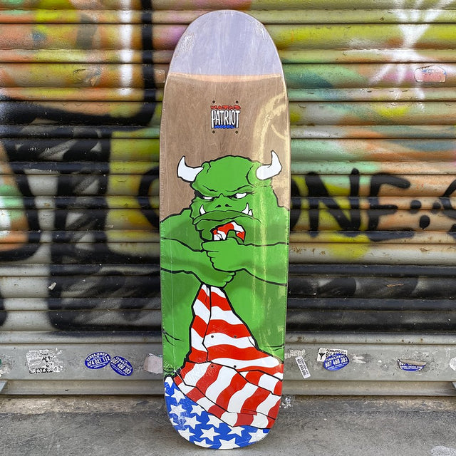 101 Skateboards Natas Patriot  Reissue Skateboard Deck -Tabla Skate - Furtivo! Skateboarding