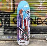 New Deal Sargent Invader Slick Reissue Skateboard Deck- Tabla Skate Tabla/Deck New Deal