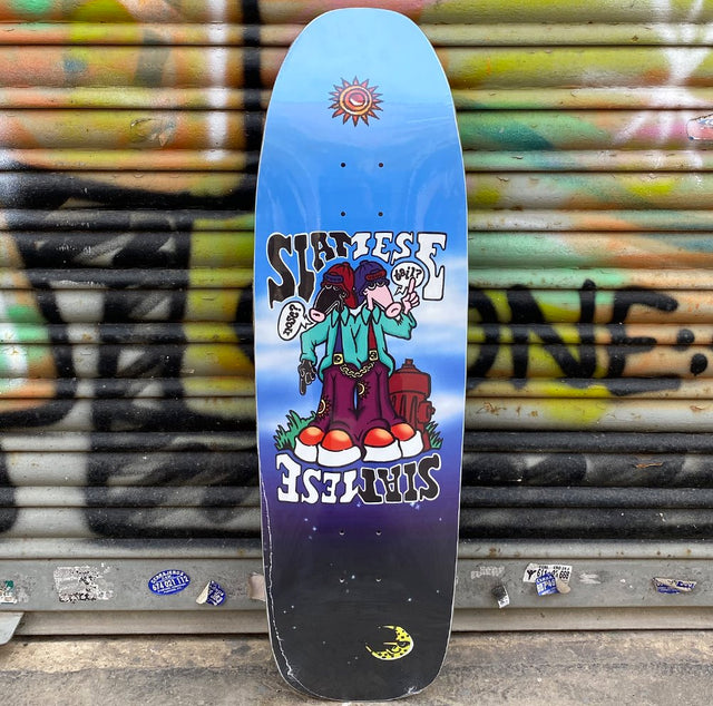New Deal Siamese Slick Reissue Skateboard Deck- Tabla Skate Tabla/Deck New Deal