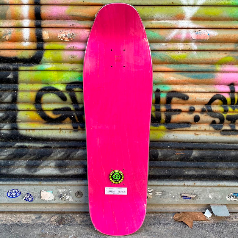 New Deal Tagger Neon Heat Transfer Reissue Skateboard Deck- Tabla Skate - Furtivo! Skateboarding