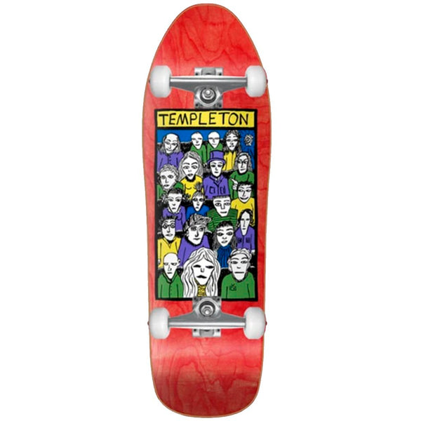 New Deal Templeton Crowd Skateboard Completo - Completos Completos New Deal