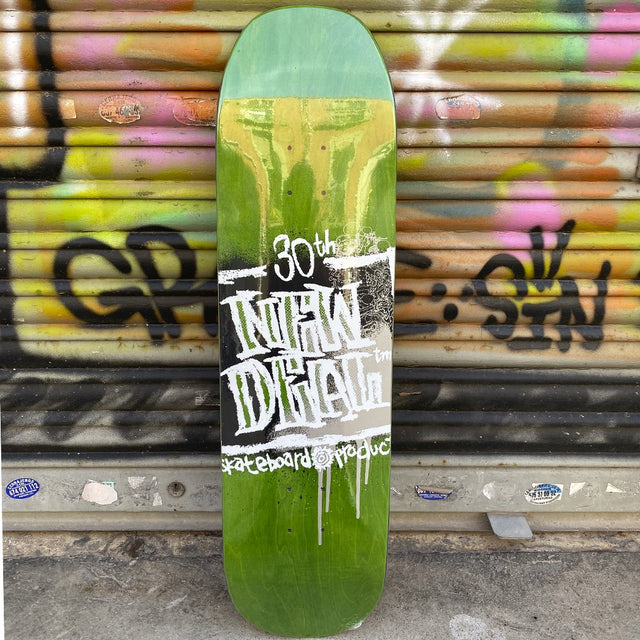 New Deal WTF Napkin Founder Howell Deck 8.625 Skateboard Deck- Tabla Skate - Furtivo! Skateboarding