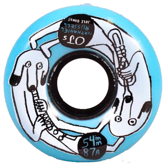 OJ WHEELS Nathaniel Rusell Jazz Dawgs Keyframe 87 A 54MM - Ruedas - Furtivo! Skateboarding