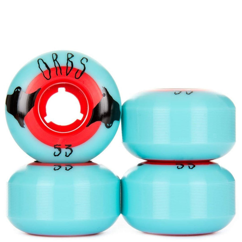 ORBS by WELCOME POLTERGEIST SOLID CORE Wheels 53 - Ruedas Skate