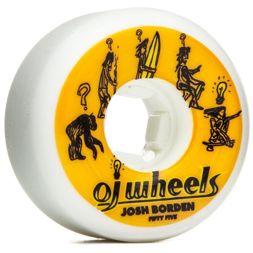 RUEDAS/WHEELS OJ WHEELS BORDEN HARDLINE 55MM - Furtivo Skateboarding