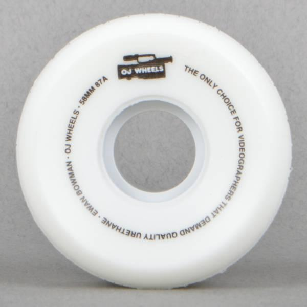 RUEDAS/WHEELS OJ WHEELS  BOWMAN BIG GUNS 58MM - Furtivo Skateboarding