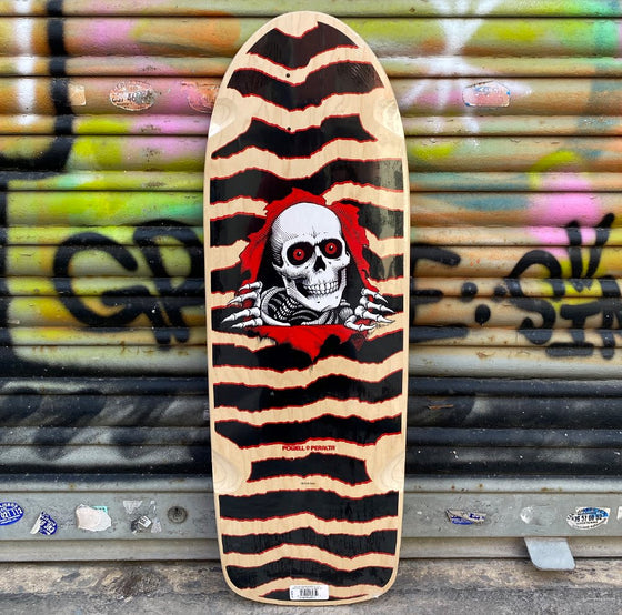 Powell Peralta O.G Ripper Natural Reissue Skateboard Deck- Tabla - Furtivo! Skateboarding