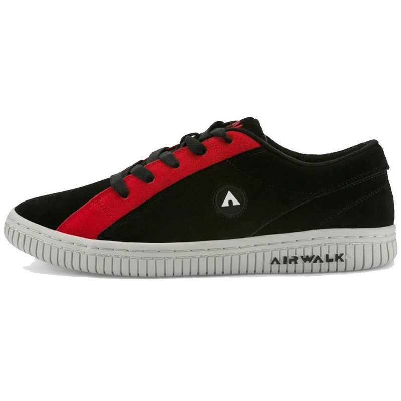 "AIRWALK ""ONE"" The Chance Black/Red Reissue Zapatillas Skateboard- Shoes - Furtivo! Skateboarding"