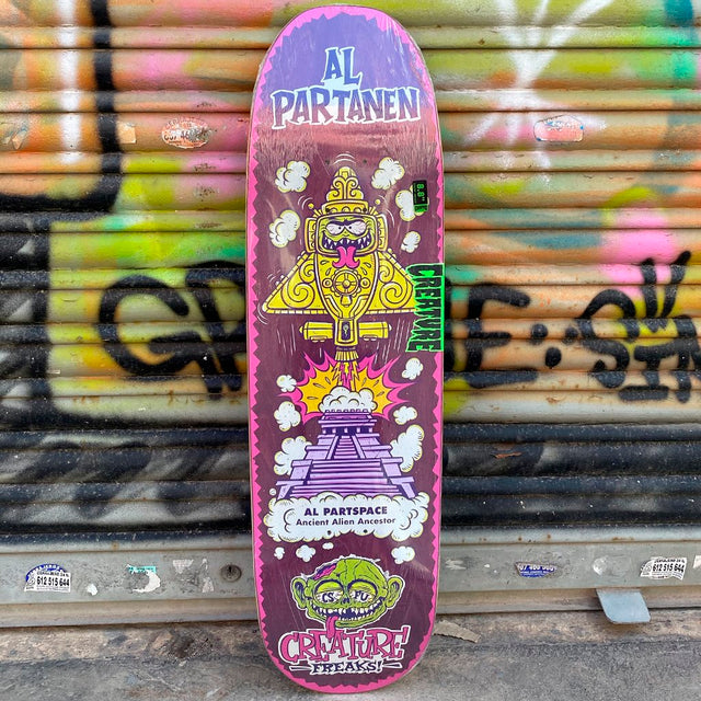 Creature Partanen Freaks 8.8 Skateboard Deck - Tabla Skate Tablas Creature Skateboards