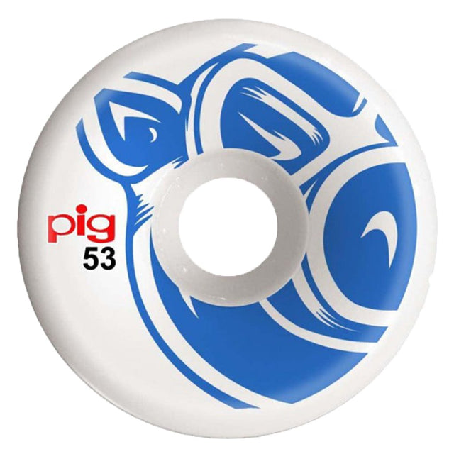 Pig Wheels head Blue C-line 53mm- Ruedas - Furtivo! Skateboarding