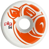 Pig Wheels head Orange C-line 54mm- Ruedas - Furtivo! Skateboarding