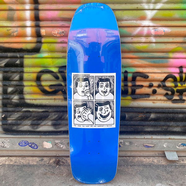 Polar Aaron Herrington Hurt Me 1992 Shape 9,25 Skateboard Deck-Tabla Skate Tablas Polar Skate CO