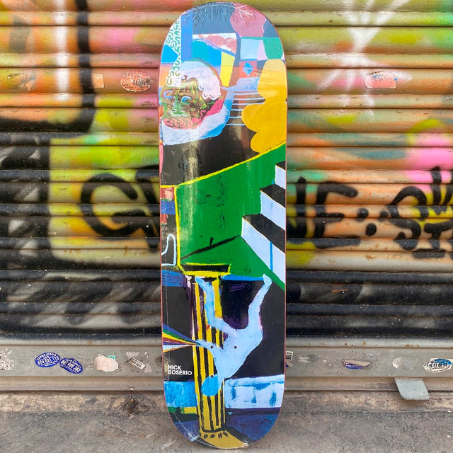 Polar Nick Boserio Memory Place 8.6 Skateboard Deck- Tabla Skate - Furtivo! Skateboarding
