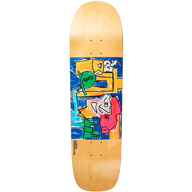 Polar Aaron Herrington Debacle Pimp P1 Skateboard Deck- Tabla Skate - Furtivo! Skateboarding