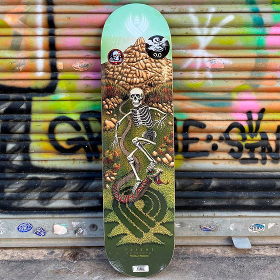 Powell Peralta Pro Flight 8.88 x 34.7 JM Duran Skateboard Deck- Tabla Tablas Powell Peralta