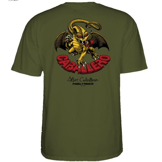Powell Peralta Classic Cab Military Green T-shirt- Camiseta - Furtivo! Skateboarding