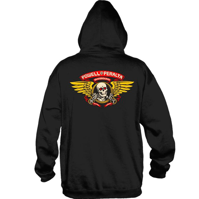 Powell Peralta Winged Ripper hoodie navy -Sudadera - Furtivo! Skateboarding