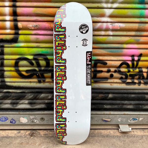 Blind Rail RHM 8.0 Skateboard Deck -Tabla - Furtivo! Skateboarding