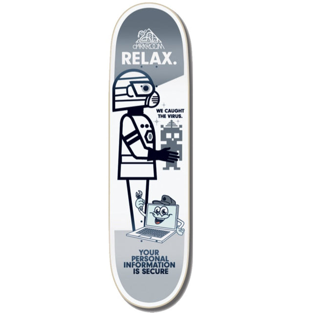 Darkroom Relax 8.25 Skateboard Deck- Tabla - Furtivo! Skateboarding