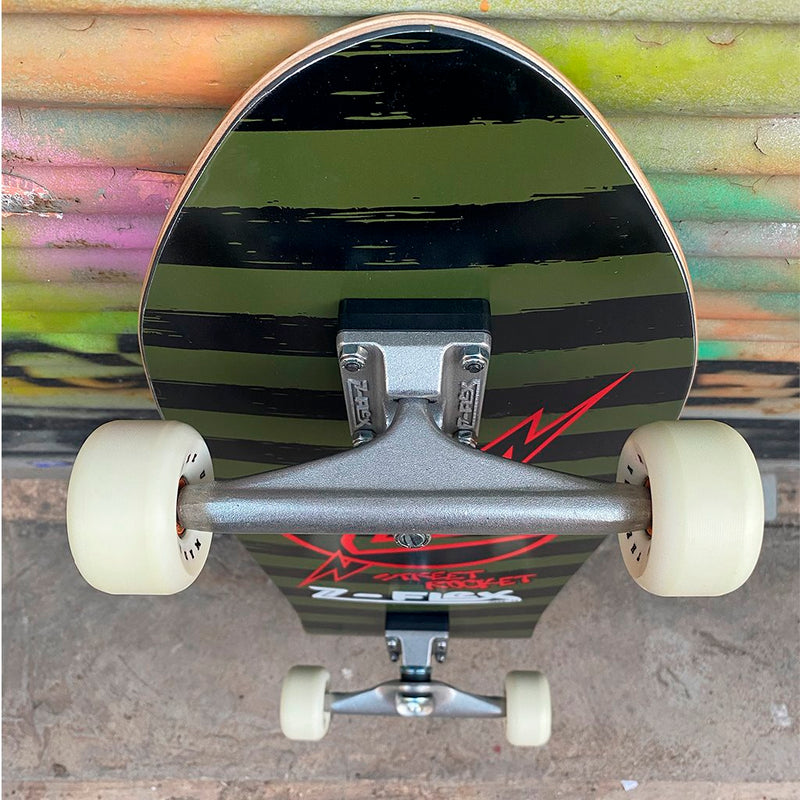 Z-flex Street Rocket Green Completo - Completos - Furtivo! Skateboarding