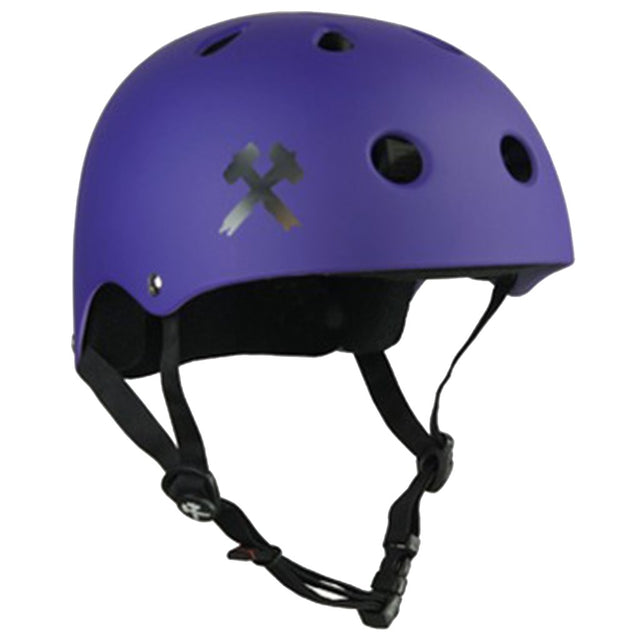 S-ONE Premium Purple Helmet Casco-Protecciones - Furtivo! Skateboarding