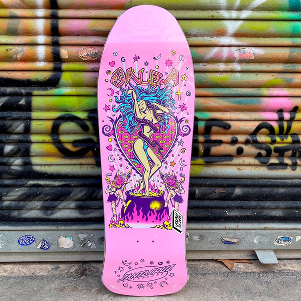 Santa Cruz Salba Witch Doctor 10.4 Skateboard Deck- Tabla Skate Tablas Santa Cruz Skateboards
