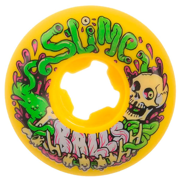 Santa Cruz  53mm Guts Speed Balls 99A Slime Balls Wheels- Ruedas - Furtivo! Skateboarding