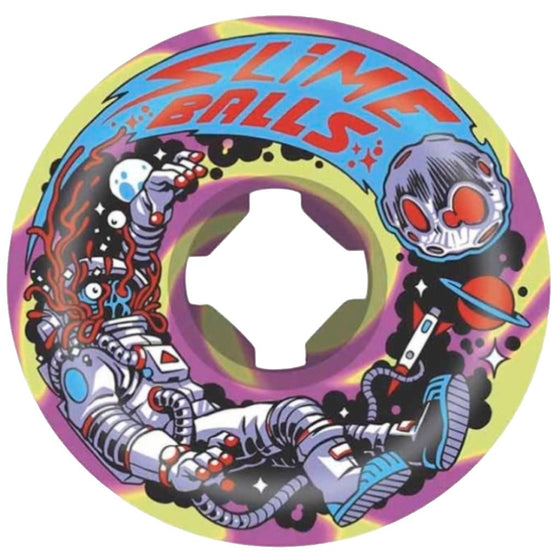 Santa Cruz 54mm Astros Speed Balls 99A Slime Balls Wheels- Ruedas Ruedas Santa Cruz Skateboards