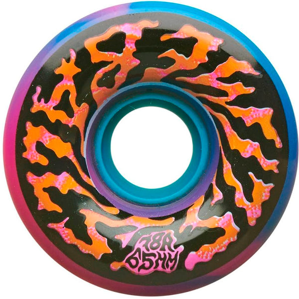 Santa Cruz Skateboards Swirly Slime Balls Blue Pink Swirl 65mm 78A Wheels- Ruedas Ruedas Santa Cruz Skateboards