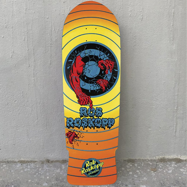 Santa Cruz Roskopp Target 2 Reissue 10.0 Skateboard Deck- Tabla - Furtivo! Skateboarding