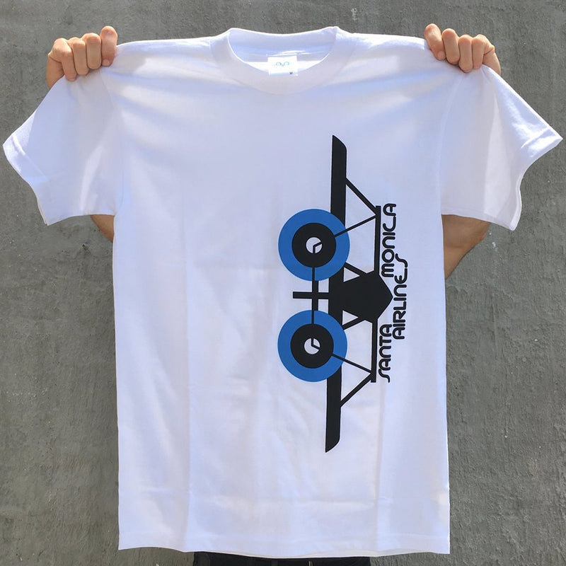 Santa Monica Airlines Vertical SMA Plane ShirtReissue T Shirt- Camiseta - Furtivo! Skateboarding