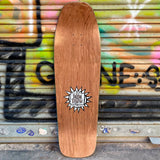 New Deal Sargent Killer Screen Printed Brown Reissue Skateboard Deck- Tabla Skate - Furtivo! Skateboarding