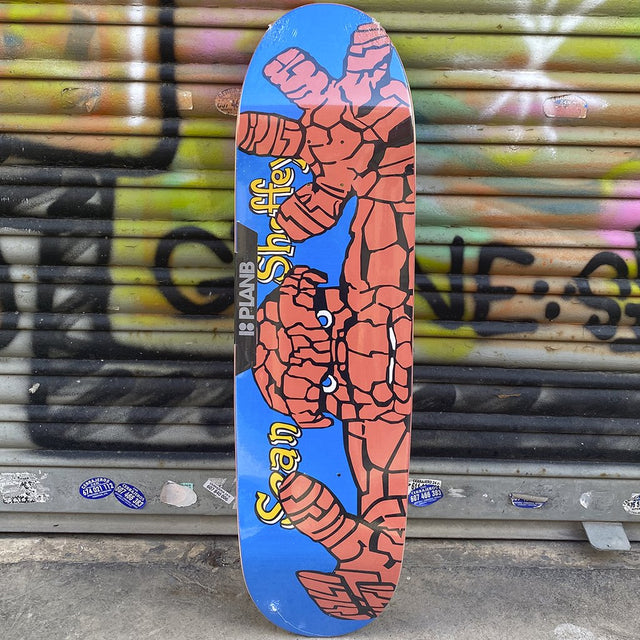 Plan B Sean Sheffey The Thing Reissue Tabla Skate - Furtivo! Skateboarding