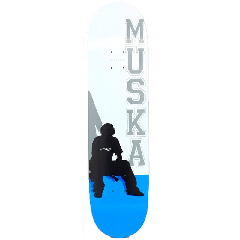 "Shorty's Original Muska BLUE Silhouette 8.125"" Skateboard Deck- Tabla - Furtivo! Skateboarding"
