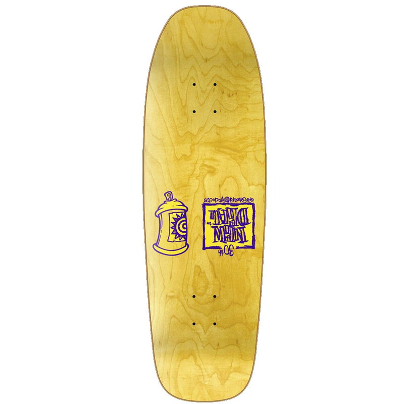 New Deal Siamese Doublekick Neon Heat Transfer Reissue Skateboard Deck- Tabla Skate - Furtivo! Skateboarding