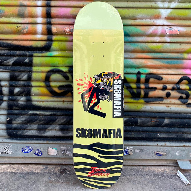 Skate Mafia Surrey Animal Style 8.25 x 32 Deck Tabla Skate - Furtivo! Skateboarding