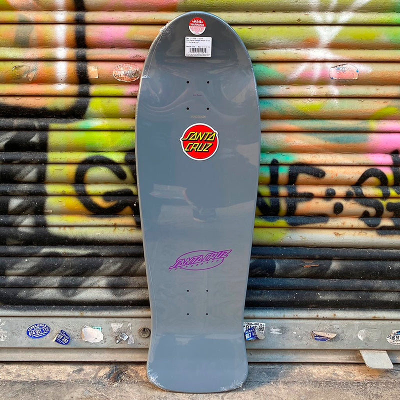 Santa Cruz Slasher Black Light Reissue Skate Deck- Tabla - Furtivo! Skateboarding