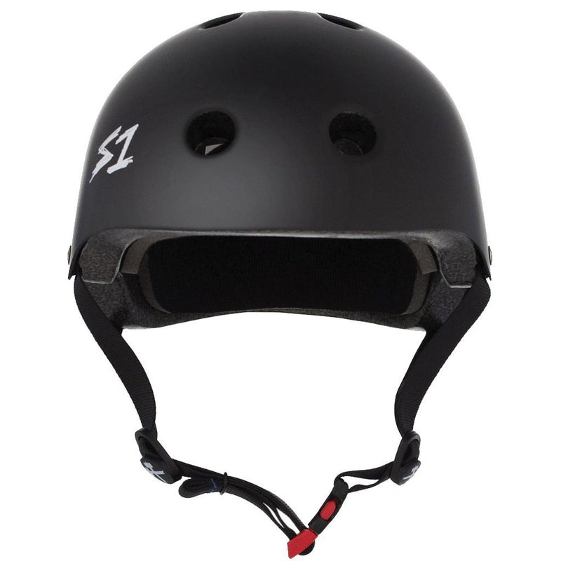S-ONE Lifer Black Matte Helmet Casco-Protecciones - Furtivo! Skateboarding