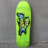 "Blockhead Skateboards ""Spray paint"" Logo 1989 Signed and Numbered Skateboard Deck- Tabla Skate - Furtivo! Skateboarding"
