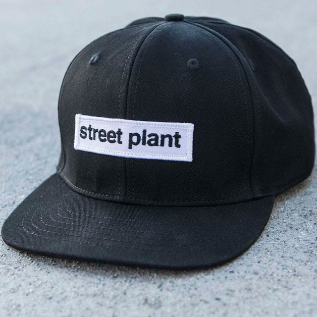 Street Plant Six Panel Logo Hat-Gorra - Furtivo! Skateboarding