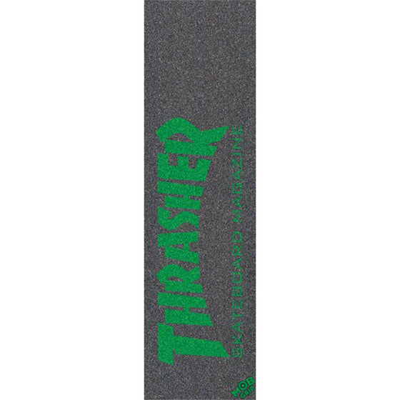MOB GRIP THRASHER Green Graphic Griptape Lija - Furtivo! Skateboarding