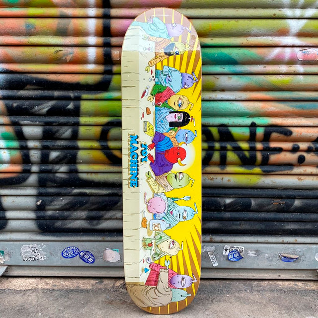Toy Machine 8.25 LAST SUPPER Skateboard Deck- Tabla Skate - Furtivo! Skateboarding