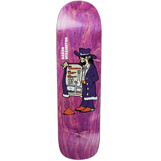 Tabla Polar Aaron Herrington Drug Pimp P8 Skateboard Deck - Furtivo! Skateboarding