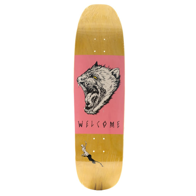 Tabla WELCOME TASMANIAN ANGEL ON NIMBUS 5000 8.75  Skateboard Deck - Furtivo! Skateboarding