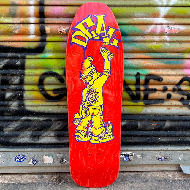 New Deal Tagger Screen Printed Reissue Skateboard Deck- Tabla Skate Tabla/Deck New Deal