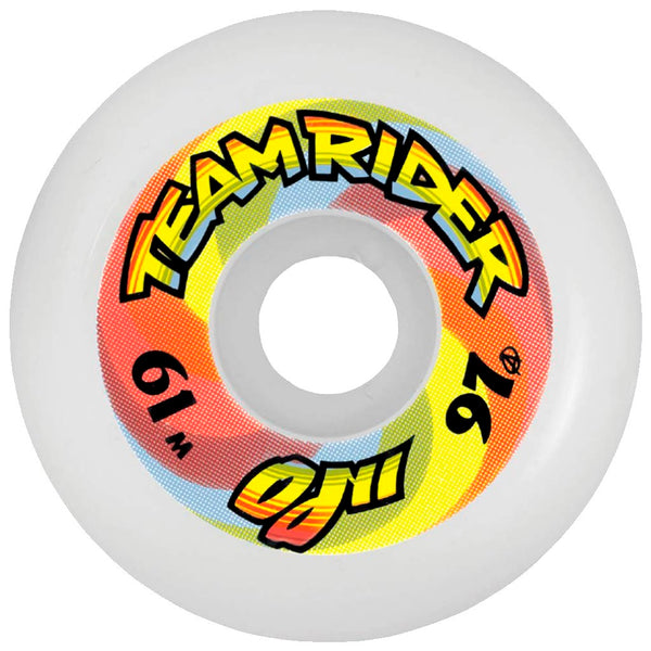 OJ WHEELS TEAM RIDER Rainbow 61MM Reissue Skate Wheels- Ruedas Ruedas OJ Wheels
