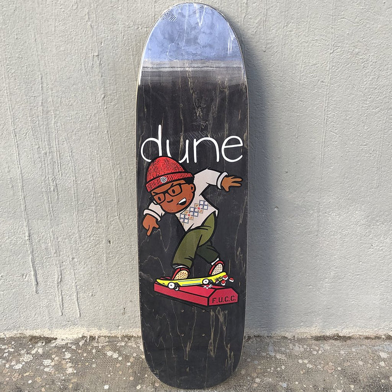 The Folklore Project Dune Custom Shape Skateboard Deck- Tabla Skate - Furtivo! Skateboarding
