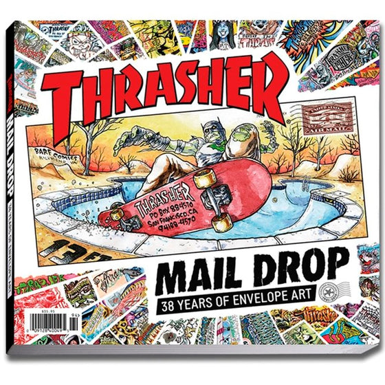 Thrasher Mail Drop Book -Libro - Furtivo! Skateboarding