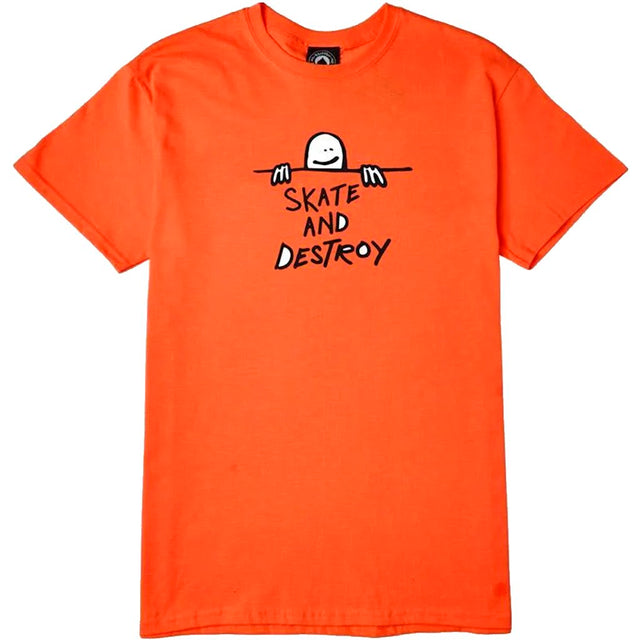 Thrasher Sad Logo Tee Orange-Camiseta - Furtivo! Skateboarding