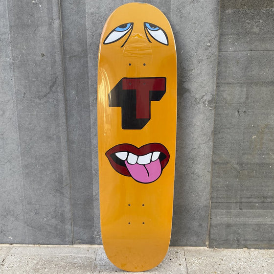 Tired Skateboards face doll 9 Skateboard Deck -Tabla Skate - Furtivo! Skateboarding